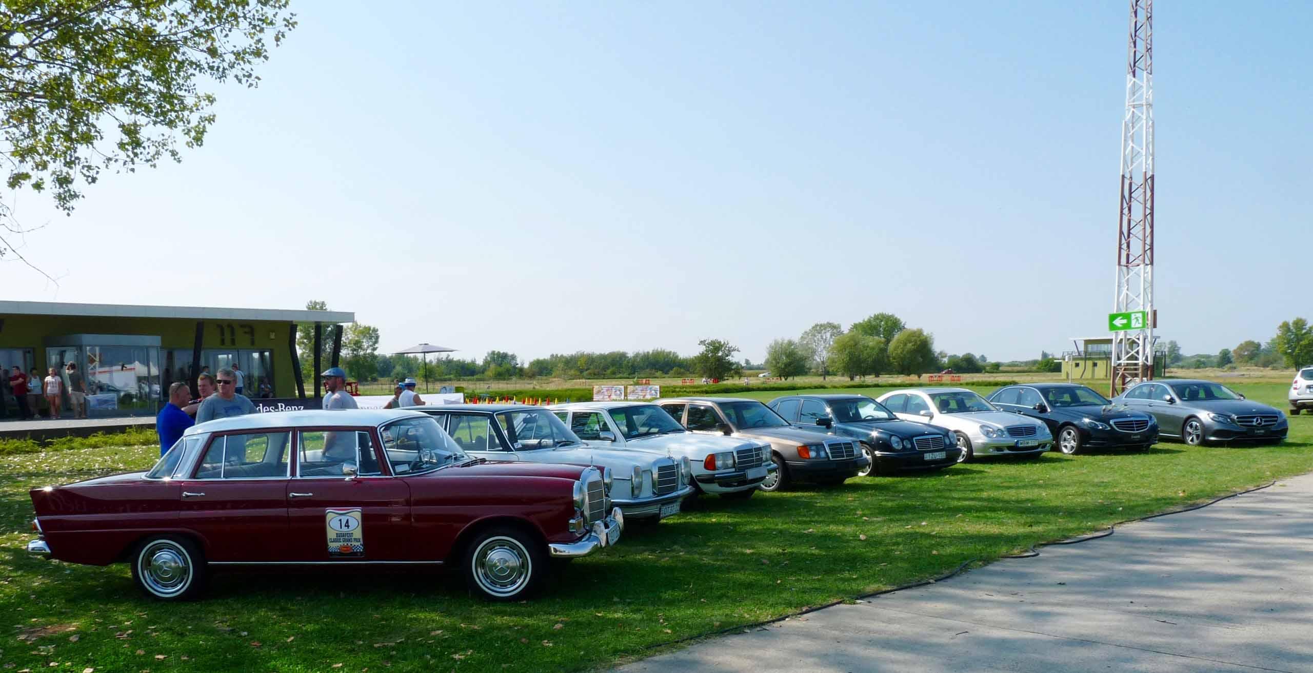 Mercedes-Benz találkozó