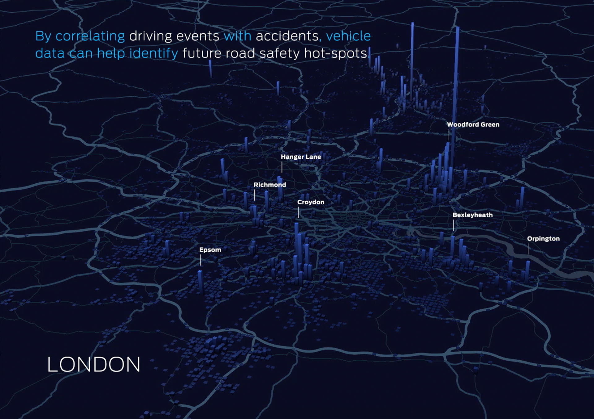 london összekapcsol helyeket