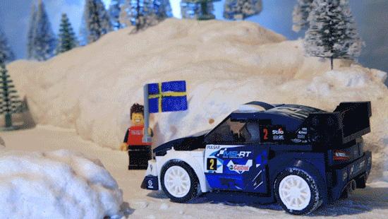 Ford Fiesta WRC LEGO Speed Champion