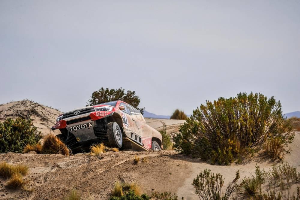 Toyota Gazoo Racing SA (6-7. szakasz)