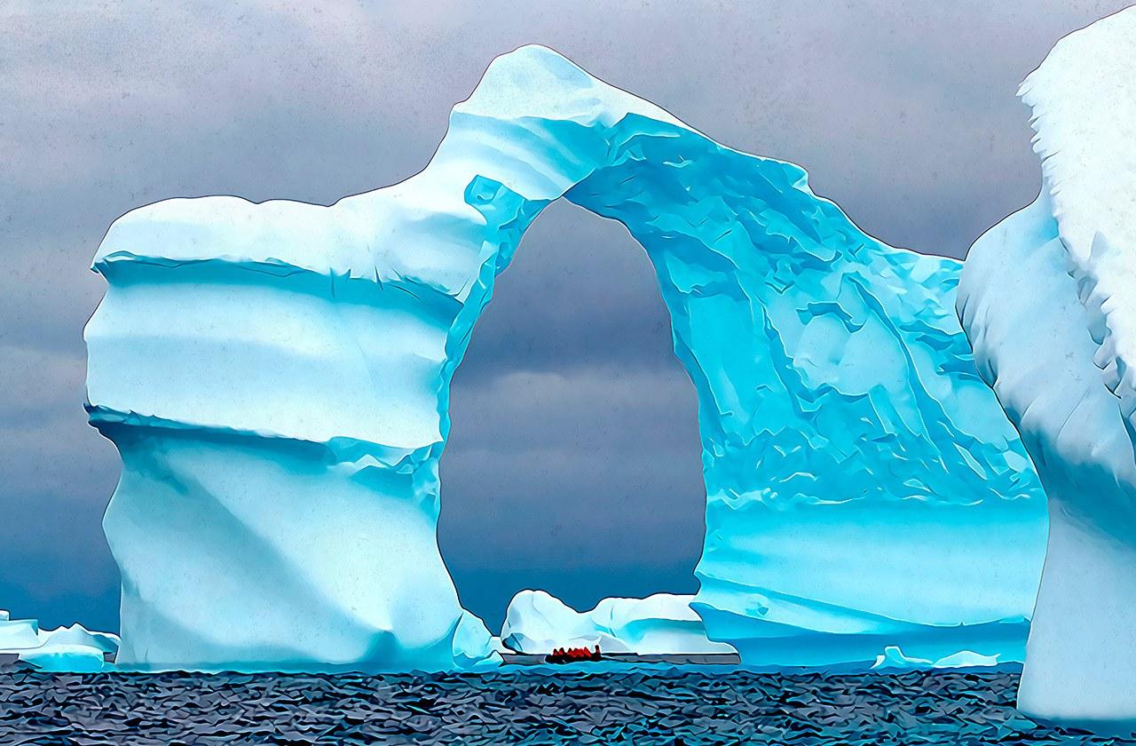 A világ legnagyobb jéghegye