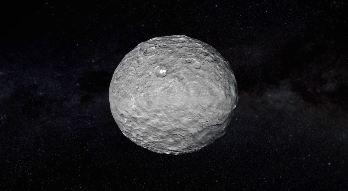 Ceres törpebolygó