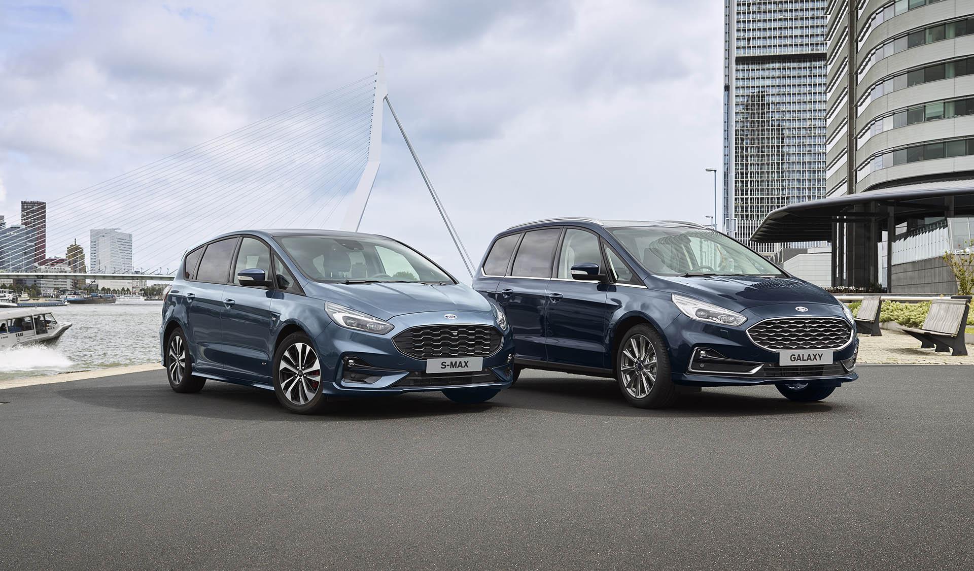 Ford S-MAX, Galaxy Hybrid 2021