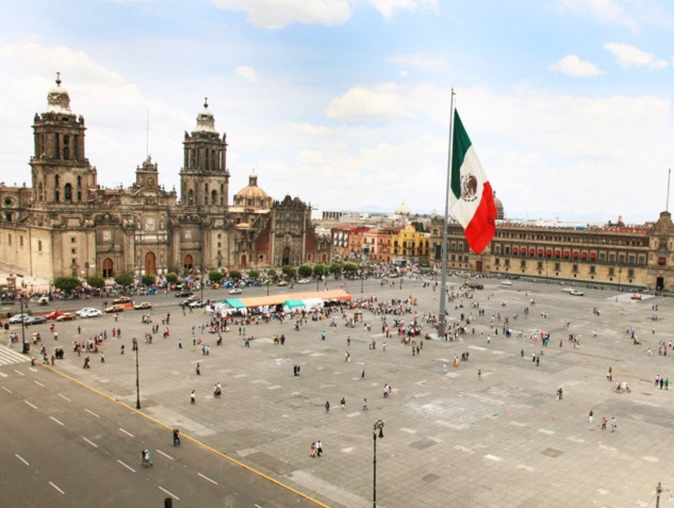 Mexikóváros főtere