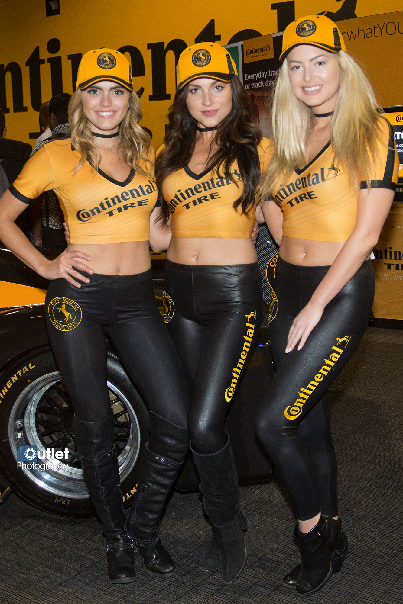 Continental Tire Promo Girls1