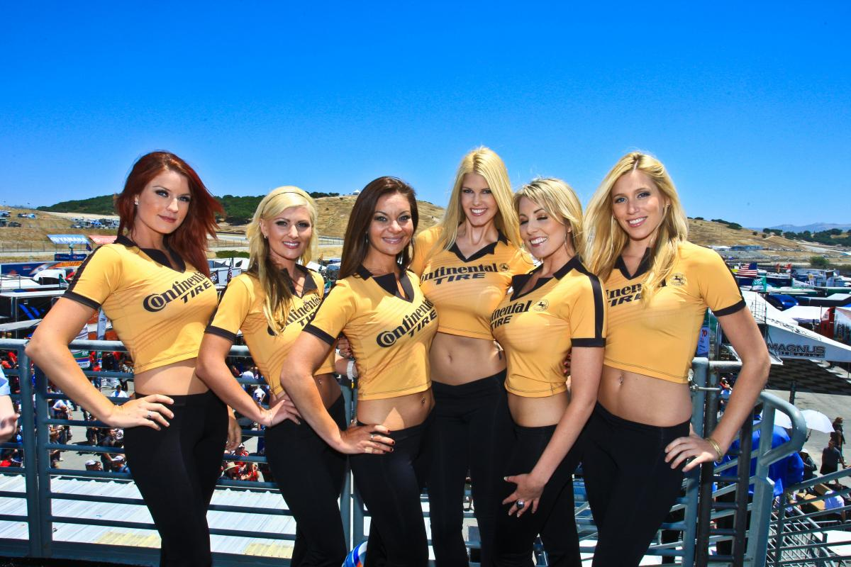 Continental Tire Promo Girls2