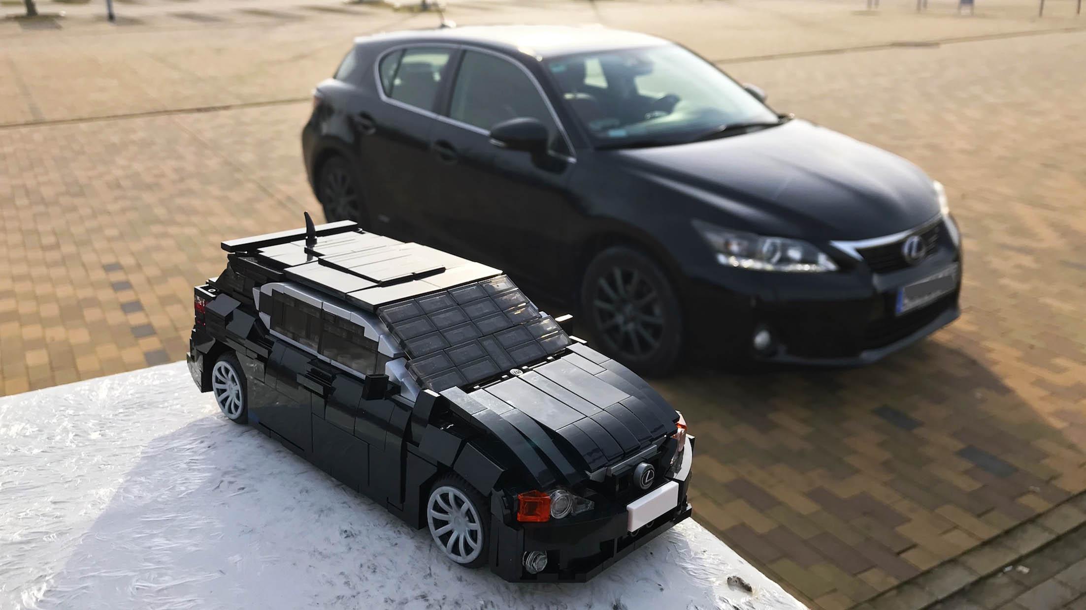 A legmenőbb autós LEGO