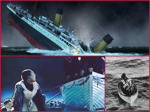 Titanic katasztrófa
