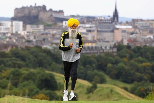 A világ legidősebb maratonistája
