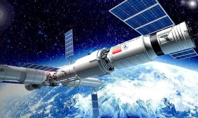 Kínai űrállomás