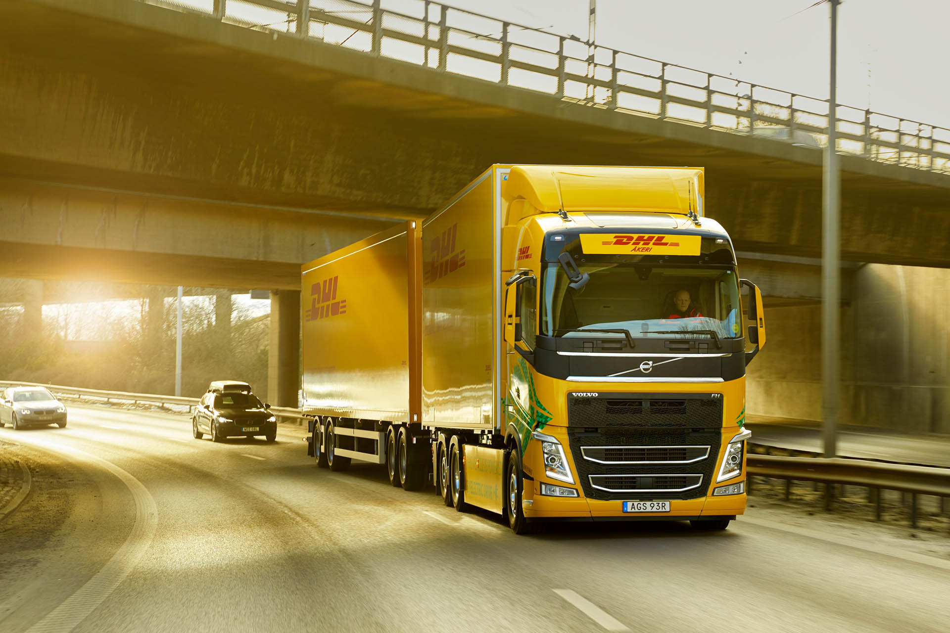 Volvo Truck & DHL Freight