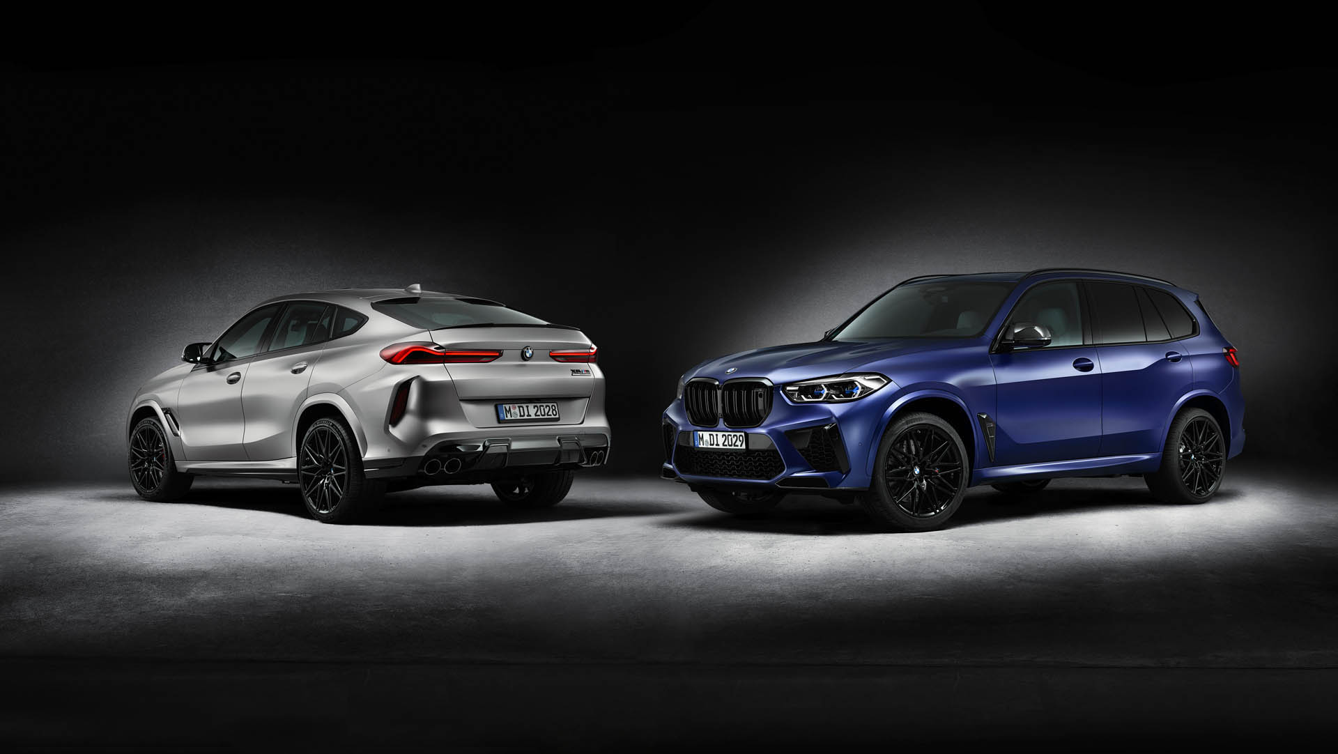 BMW X5 & X6 M Competition First Edition