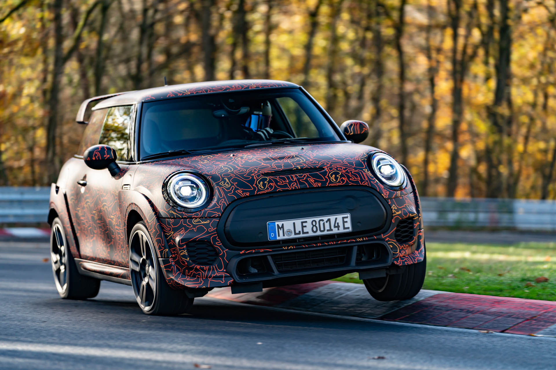 MINI John Cooper Works Electrification
