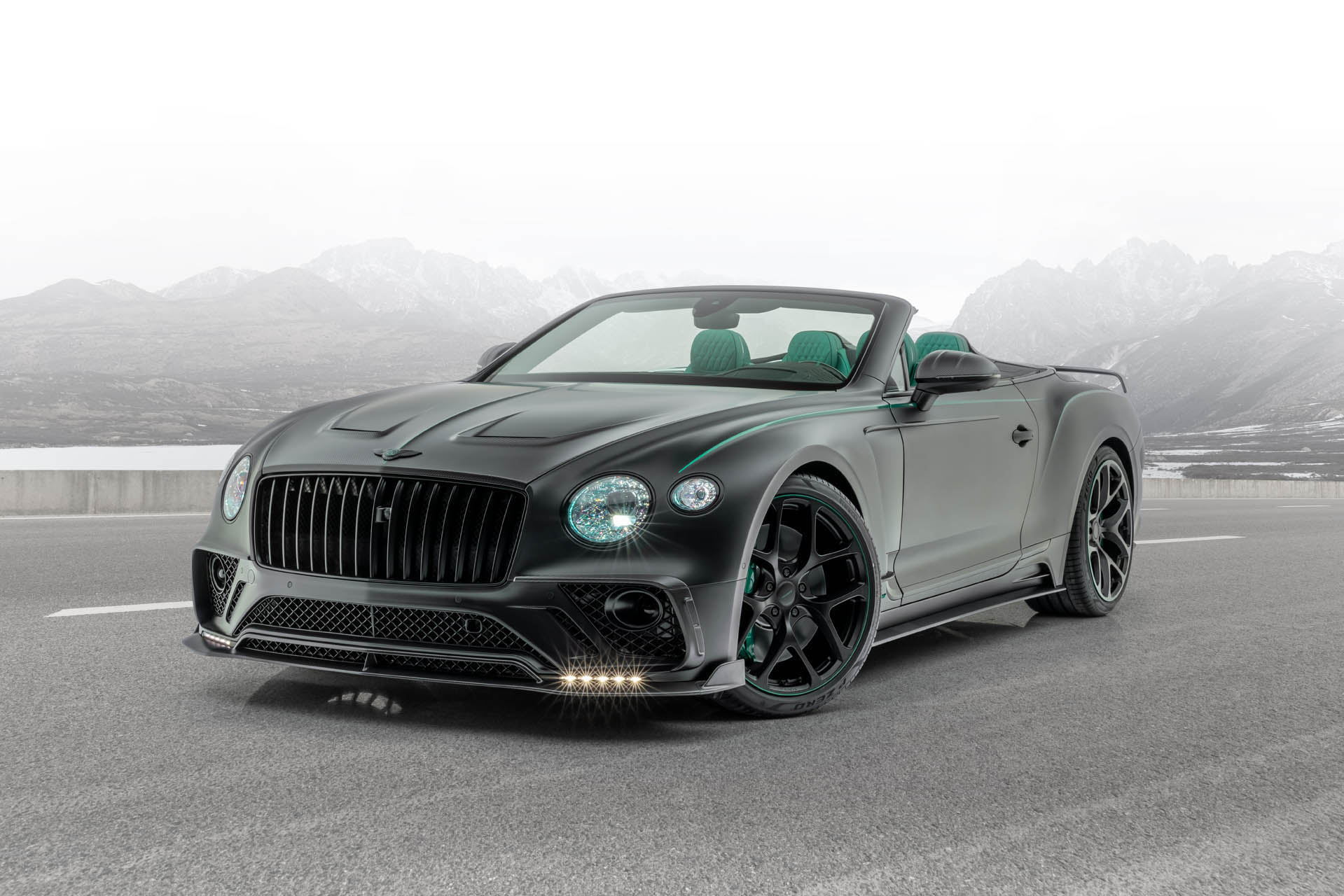Mansory Bentley Continental GTC V8