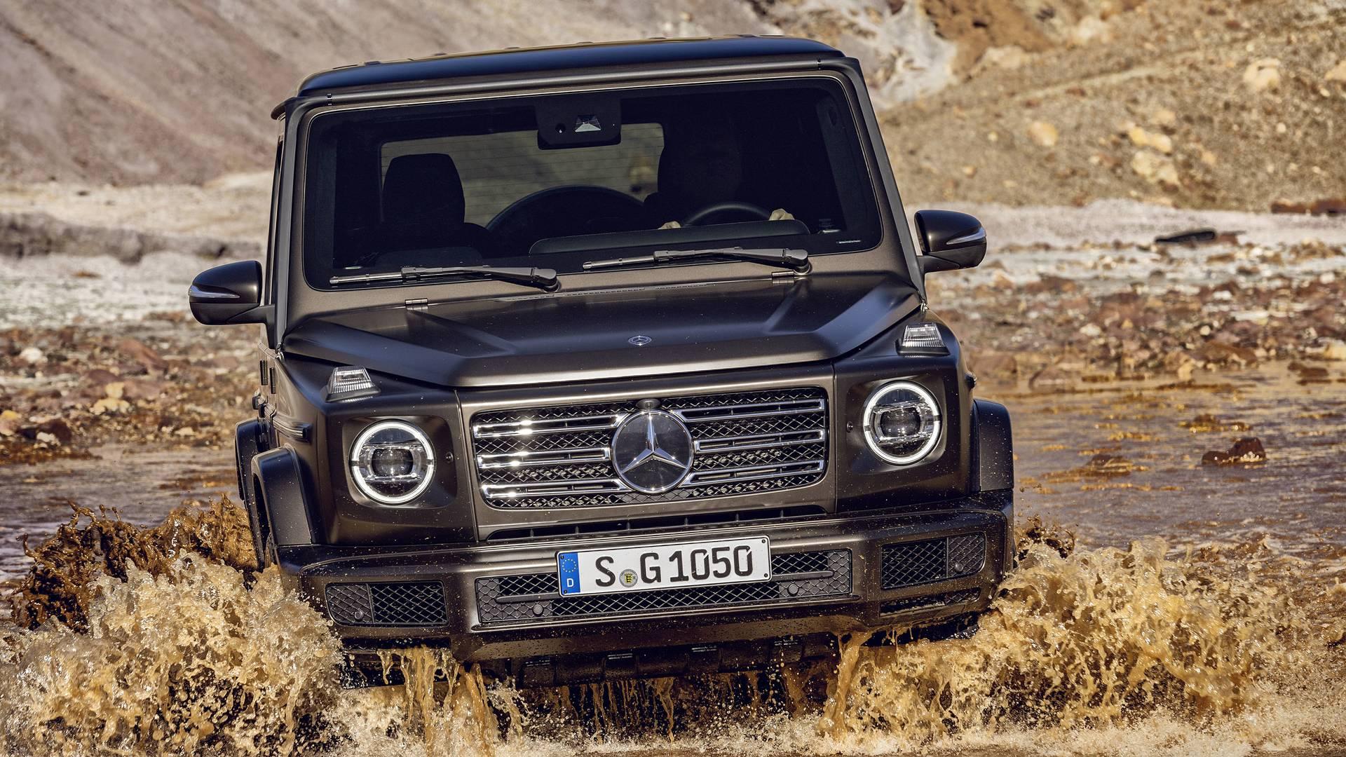 Mercedes G-osztály 2019