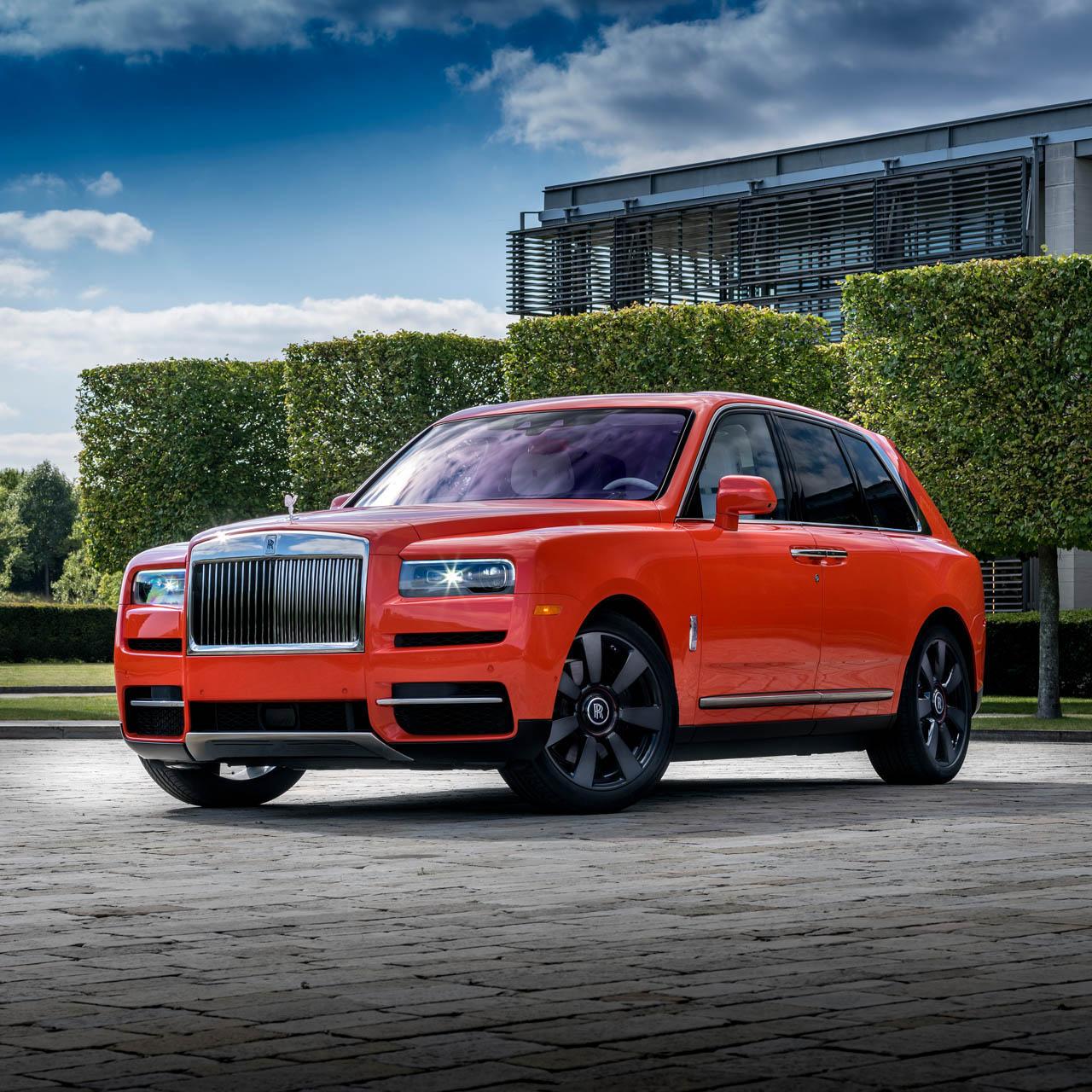 Rolls-Royce Cullinan in Fux Orange