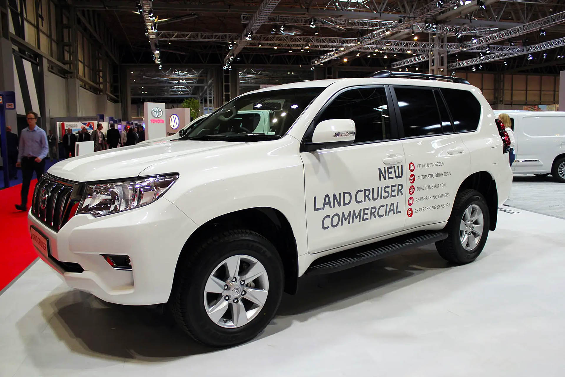 Toyota Land Cruiser Commercial 2020