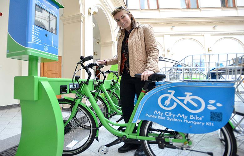 991af155bea9 A Public Bike System Hungary Kft. elektromos és manuális közösségi  kerékpárkölcsönző rendszere hozzájárul a városi szemléletformáláshoz, ...